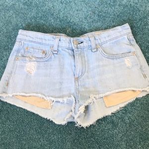 Rag and bone | the Mila denim shorts